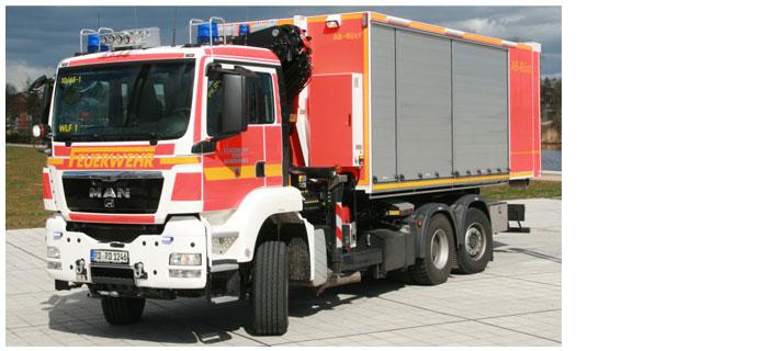 Neues WLF mit AB-Rüst für die FF-Rendsburg in Dienst gestellt