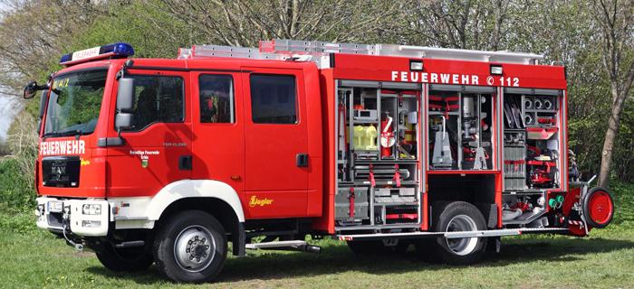 Neues HLF für die Feuerwehr Erfde (SH)