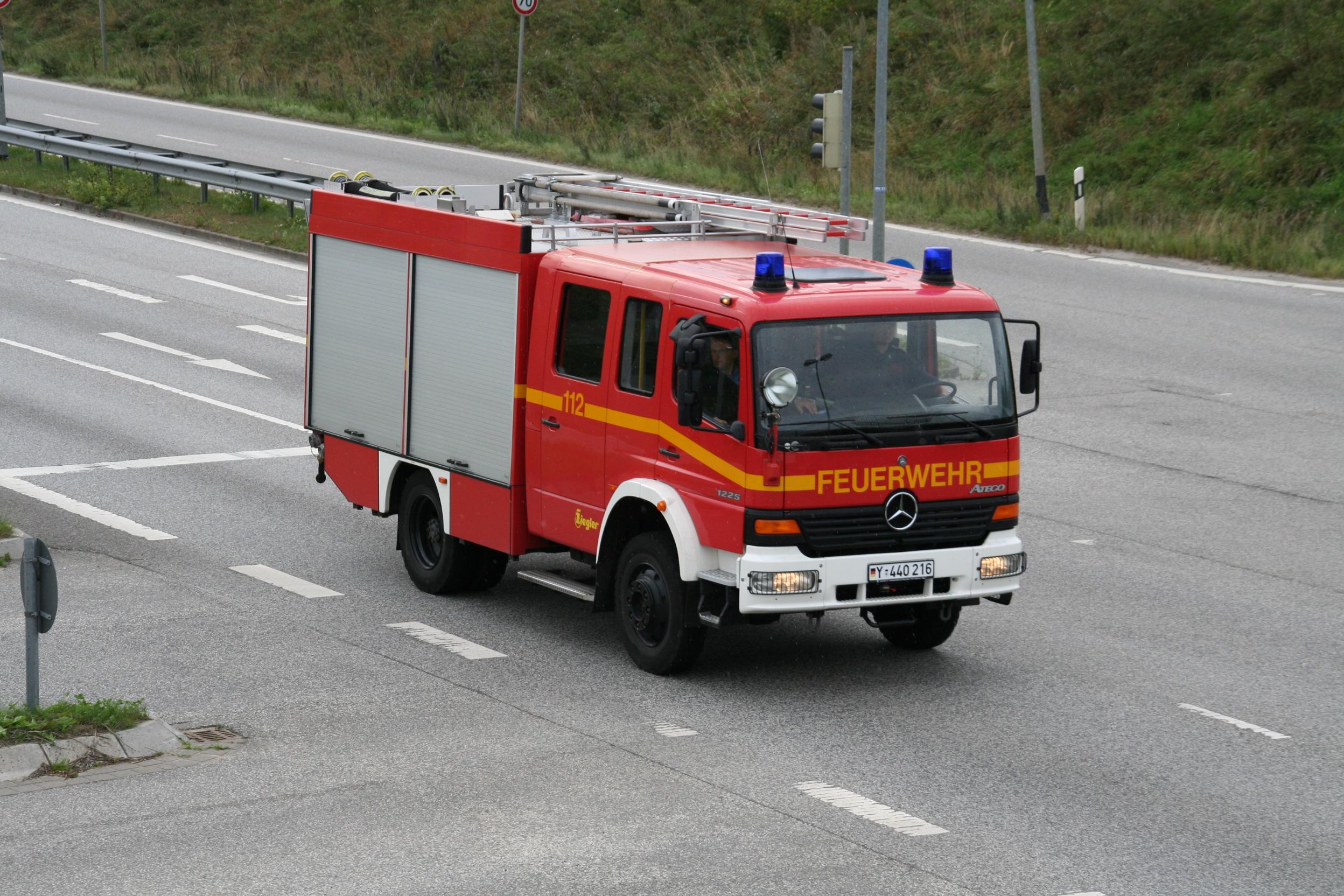 Schnappschuss: HLF 16/12 Bundeswehr