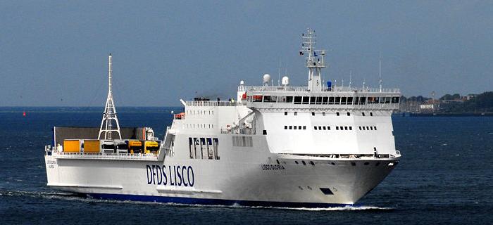 Feuer auf Ostsee-Fähre Lisco Gloria
