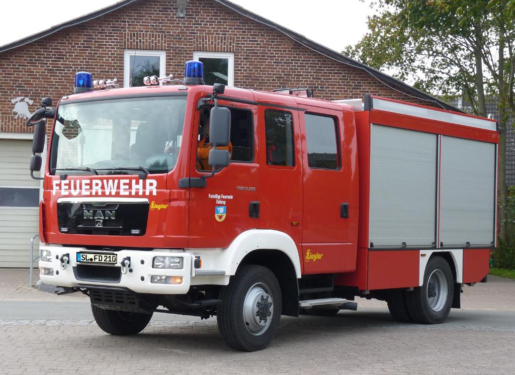 Neue Fahrzeuge für Dollerup, Ringsberg und Munkbrarup