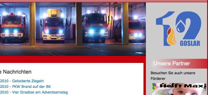 ***Feuerwehr des Monats: Goslar***