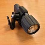 Detail Lampenhalterung ohne Visier