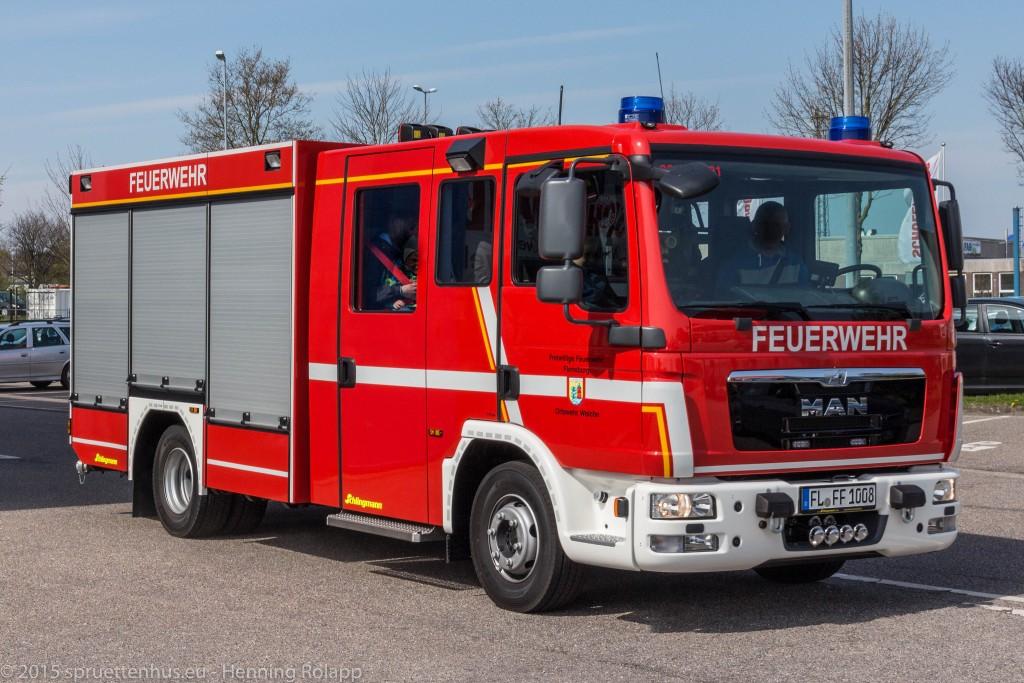Das neue LF 10 der FF Weiche